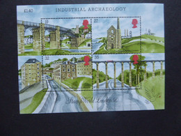 GREAT BRITAIN SG 1444MS INDUSTIAL ARCHEOLOGY   MINT - Autres