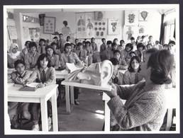 PALESTINIAN REFUGEES CAMP UNRWA PRESS PHOTO (not Postcard) Size 18 X 24 Cm School At NUZHA AMMAN Palestine - Palästina