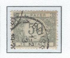 """COB  TX31-V  """"Point Après Le A De BETALEN""""   (USED) - Briefmarken"""