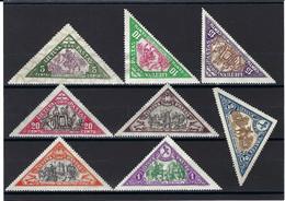 ⭐ Lituanie - Poste Aérienne - YT N° 60 à 67 - Neuf Avec Charnière - 1932 ⭐ - Litauen