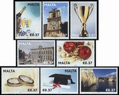 MALTE Evénements/occasions 2012 8v Neuf ** MNH - Malta