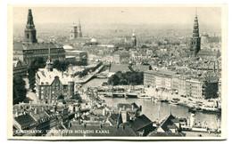 DENMARK - Kobenhavn - Udsigtover Holmes Kanal - Dinamarca