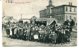 UNITED STATES - Consolidated School, District Holland MAN - Superb Group Picture - Verenigde Staten
