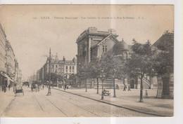 CPA-59-Nord- LILLE- Théâtre Municipal- Vue Latérale De Droite Et Rue Solférino- - Lille