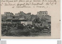 Casablanca-Panorama Du Marché - Unclassified