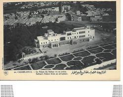 Casablanca -Le Palais Du Sultan Vu En Avion - Sin Clasificación