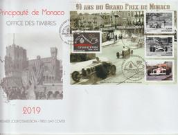 FDC 2019 Grand Prix De Monaco F3183 - FDC