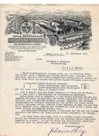C847/ Rechnung Weingroßkelterei Joh. Ohlig, Winkel Rheingau 1926 - Sin Clasificación