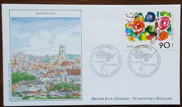 Suisse - FDC 1988 - YT N°1308 - TINGUELY - FDC