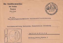 Env Frei Durch Ablösung Reich Obl TANN (ELS) INMITTEN DER HOCHVOGESEN ADRESS2E 0 STRASSBURG - Elsass-Lothringen