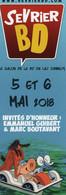 Marque Page ARIOL Boutavant Et Emmanuel Guibert - Books, Magazines, Comics