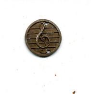 """Petite Médaille Thème Musique """"clé De Sol"""" / (fin XIXème - Début XXème) - Altri Oggetti"""