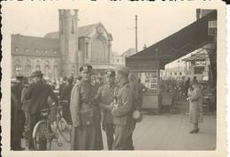 Luxembourg 1940: Photo De La Gare. - Lieux