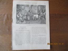 LES MISSIONS CATHOLIQUES DU 20 AVRIL 1900 INTERIEUR DE PAYSANS NORVEGIENS,TONKIN OCCIDENTAL SOUVENIRS FRANCO-TONKINOIS - 1900 - 1949