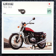 Collection Fiches ATLAS - MOTO - KAWASAKI 750 Z2 / 900 Z1 - 1973 - Autres