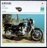 Collection Fiches ATLAS - MOTO - KAWASAKI Z 1300 6 Cylindres - 1979 - Autres