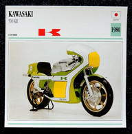 Collection Fiches ATLAS - MOTO - KAWASAKI 500 KR - 1980 - Autres
