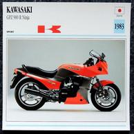 Collection Fiches ATLAS - MOTO - KAWASAKI GPZ 900 R Ninja - 1983 - Autres