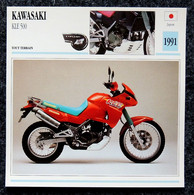 Collection Fiches ATLAS - MOTO - KAWASAKI KLE 500 - 1991 - Autres