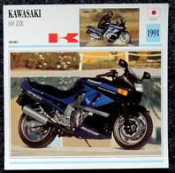 Collection Fiches ATLAS - MOTO - KAWASAKI 600 ZZR - 1991 - Autres