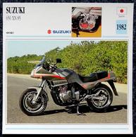 Collection Fiches ATLAS - MOTO - SUZUKI 650 XN 85 - 1982 - Autres