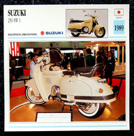 Collection Fiches ATLAS - MOTO - SUZUKI 250 SW 1 - 1989 - Autres