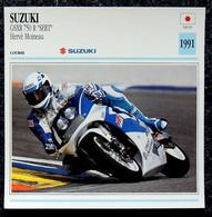 Collection Fiches ATLAS - MOTO - SUZUKI GSXR 750 R SERT - Hervé MOINEAU - 1991 - Autres