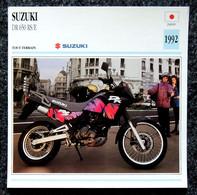 Collection Fiches ATLAS - MOTO - SUZUKI DR 650 RS/E - 1992 - Autres