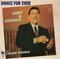 Disque - Dance For Ever - Louis Prima Vol 1 - Just A Gigolo - Capitol EAP 1 - 20479 - France Réédition 1982 - - Disco, Pop