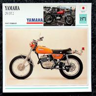 Collection Fiches ATLAS - MOTO - YAMAHA 250 DT 2 - 1971 - Autres