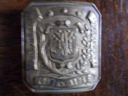 Rare Boucle Bataillon Scolaire  1870 - Uniform