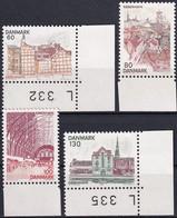 DÄNEMARK 1976 Mi-Nr. 617/20 ** MNH - Nuovi