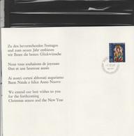 Suisse FDC Yvert 837 Pro Patria Bern 1/12/1969 Sur Feuillet - Vitrail - FDC