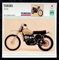 Collection Fiches ATLAS - MOTO - YAMAHA 250 MX - Cross - 1973 - Autres