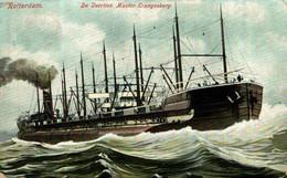 De Veertien Master Crangesberg. Barcos Boats Bateau Navire - Sin Clasificación