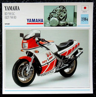 Collection Fiches ATLAS - MOTO - YAMAHA RD 500 LC ( RZV 500 R ) - 1984 - Autres