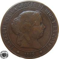 LaZooRo: Spain 5 Centimos 1868 VF / XF - [ 1] …-1931 : Kingdom