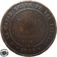 LaZooRo: Spain 1/2 Real 1848 F / VF Rare - [ 1] …-1931 : Kingdom