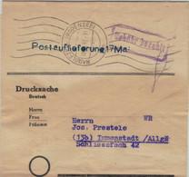 Zeitungsschleife Radolfszell Bodensee 18.5.1947 - Drucksache Gebühr Bezahlt - Postauflieferung 17. Mai - Rs: Kocks Zeit. - French Zone