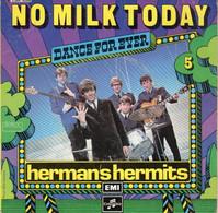 Disque - Dance For Ever - Hermans Hermits Vol.5 - No Milk Today - Columbia C 004-93548 - France Réédition 1975 - Rock