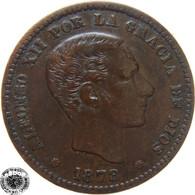 LaZooRo: Spain 5 Centimos 1878 XF - [ 1] …-1931 : Kingdom