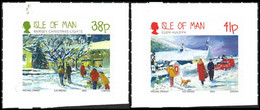 MAN Noël 2012 - Adhésifs 2v Neuf ** MNH - Isla De Man