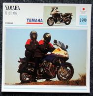 Collection Fiches ATLAS - MOTO - YAMAHA FJ 1200 ABS - 1990 - Autres