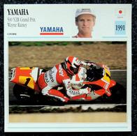 Collection Fiches ATLAS - MOTO - YAMAHA 500 YZR Grand Prix - Wayne RAINEY - 1991 - Autres