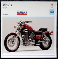 Collection Fiches ATLAS - MOTO - YAMAHA XV 535 - 1991 - Autres