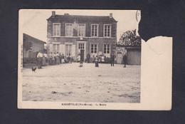 En L'état,  Marbeville (52)  La Mairie ( Animée Ed. Brunet 43531) - France