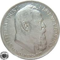LaZooRo: Germany - BAVARIA - 3 Mark 1911 D XF / UNC - Silver - [ 2] 1871-1918: Deutsches Kaiserreich