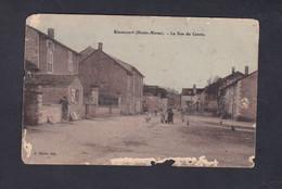 Vente Immediate Rimaucourt (52) La Rue Du Centre (animée Ed.Matrot En L'état 43532) - France
