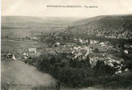 CHAMPLITTE - Vue Générale De Montarlot Les Champlitte - Otros Municipios