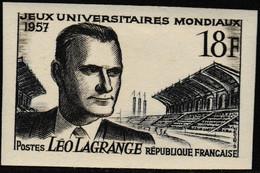 France Non Dentelé N° 1120** 1957 - No Dentado